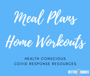 meal plans and home workouts